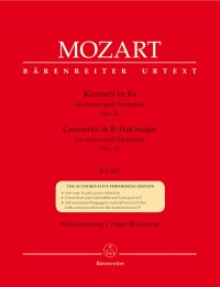 Mozart, WA: Concerto for Horn No.2 in E-flat (K.417) (Urtext)
