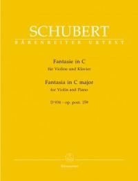 Schubert, F: Fantasy in C, Op.posth.159 (D.934) (Urtext)