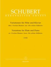 Schubert, F: Variations on Trockene Blumen, Op.posth.160 (D.802) (Urtext)