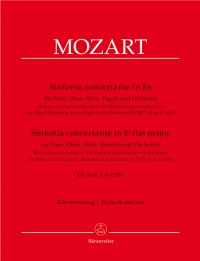 Mozart, WA: Sinfonia concertante in E-flat (K.297b) for Fl, Ob, Hn, Bsn & Orch. (Reconstructed by Robert Levin)