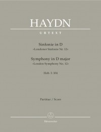 Haydn, FJ: Symphony No.104 in D (London) (Hob.I:104) (London No.12) (Urtext)