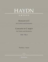 Haydn, Joseph: Concerto for Violin and Orchestra C major Hob. VIIa:1
