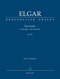 Elgar, E: Serenade for Strings, Op.20 (Urtext)