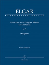 Elgar, E: Variations for Orchestra, Op.36 (Enigma) (Urtext)