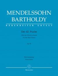 """Mendelssohn Bartholdy, Felix: Der 42. Psalm """"Wie der Hirsch schreit"""" (Psalm 42 """"As the Hart Pants"""") op. 42"""
