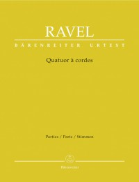 Ravel, M: String Quartet (Urtext)