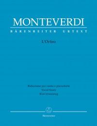 Monteverdi, Claudio: L'Orfeo (It) (Urtext)