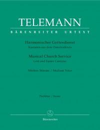 Telemann: Harmonischer Gottesdienst - Lent and Easter Cantatas (Medium Voice)