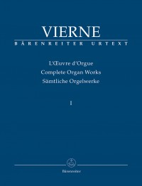 Vierne, L: Organ Works Vol. 1: Symphonie No.1, Op.14 (Urtext)