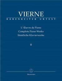 Vierne, Louis: Complete Piano Works, Volume II