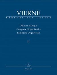 Vierne, L: Organ Works Vol. 9: Masses and Individual Liturgical Works (Urtext)