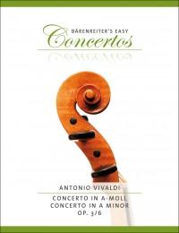 Vivaldi, A: Concerto for Violin in A minor, Op.3/6