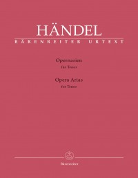 Handel, GF: Opera Arias for Tenor (Urtext)
