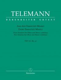 Telemann, G: Sonatas (2) in B (TWV 41: B6), in E minor (TWV 41: e6) (Urtext)