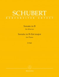 Schubert, Franz: Sonata for Piano B-flat major D 960