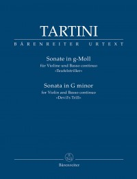 "Tartini: Sonata for Violin and Basso continuo in G minor ""Devil's Trill"""