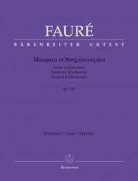 Fauré, Gabriel: Masques et Bergamasques op. 112