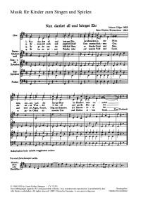 Herbst: Vier Chorsätze für Kinderchor von Kretzschmar, Herbst und Hörbe