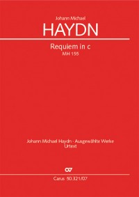 Haydn, M: Requiem in C minor MH 155