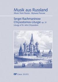 Rachmaninow: Chrysostomus-Liturgie