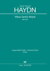 Haydn, M: Missa Sancti Aloysii MH 257
