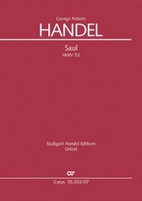 Händel: Saul Oratorium HWV 53