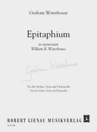 Waterhouse, G: Epitaphium
