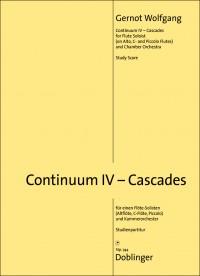 Wolfgang, G: Continuum IV - Cascades
