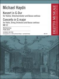 Haydn, M: Konzert in G-Dur MH 52