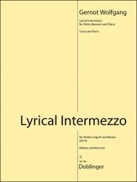 Wolfgang, G: Lyrical Intermezzo