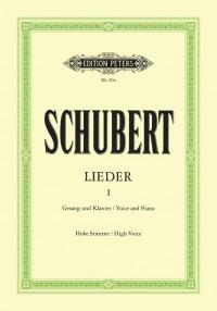 Schubert: Songs Vol.I: 92 Songs (high voice)