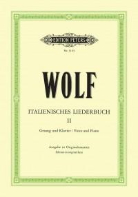 Wolf: Italienisches Liederbuch: 46 Songs Vol.2