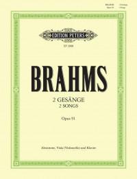 Brahms: 2 Songs Op.91