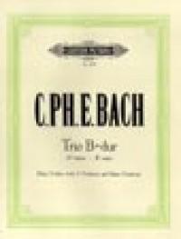 Bach, C.P.E: Trio Sonata in B flat