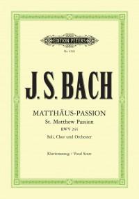 Bach, J.S: St. Matthew Passion BWV 244