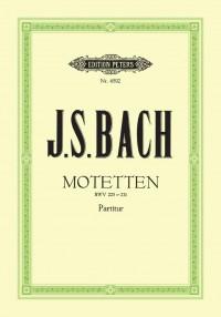 Bach, J.S: 6 Motets BWV 225-230&#x3B; Chorale 'Sei Lob und Preis'