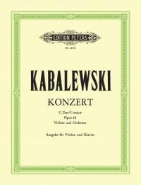 Kabalevsky, D: Concerto in C Op.48
