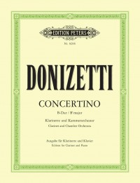 Donizetti: Clarinet Concertino in B flat