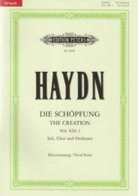 Haydn: The Creation (Vocal Score in German/English)
