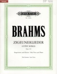 Brahms: 8 Zigeunerlieder Op.103 (low voice)