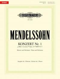 Mendelssohn Bartholdy, F: Piano Concerto No. 1