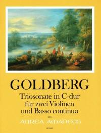 Goldberg, J G: Sonata a tre