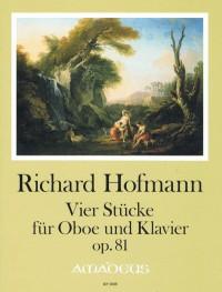 Hofmann, R: Four pieces op. 81