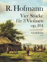 Hofmann, R: Four pieces op. 104