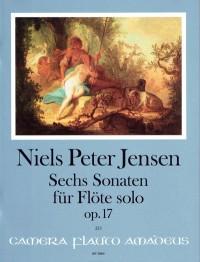 Jensen, N P: Six Sonatas op. 17
