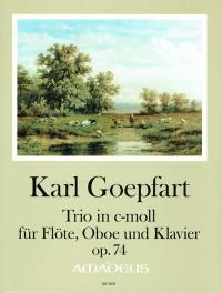 Goepfart, K: Trio op. 74