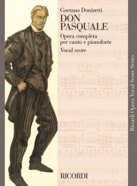 Donizetti: Don Pasquale (Italian text)