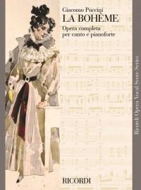 Puccini: La bohème (Vocal Score)