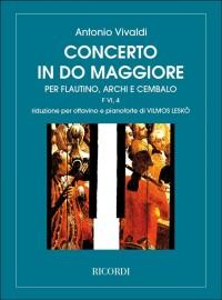 Antonio Vivaldi: Concerto FVI/4 (RV443) In C (Piccolo And Piano)