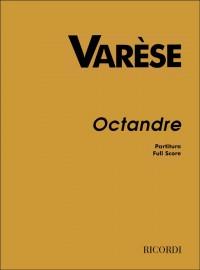 Varèse: Octandre (Full Score)